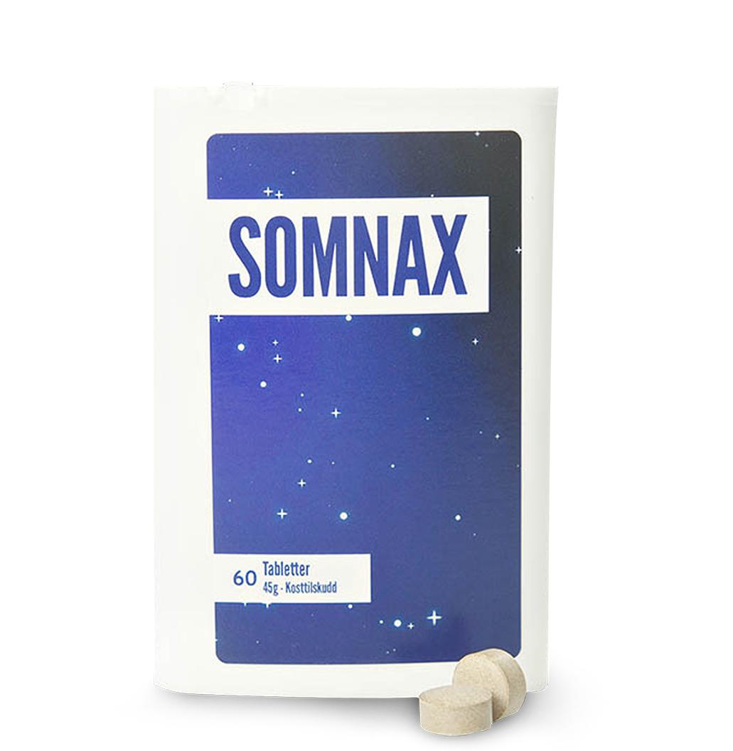 Somnax kosttilskudd | Sprekere Liv