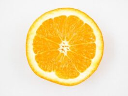 En halv appelsin